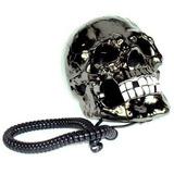 Telefone Em Formato De Cranio De Caveira Prata Diferente