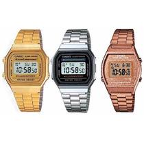 Reloj Casio Vintage Retro Original Dorado Unisex Envio Grati