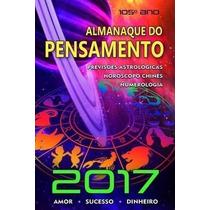 Livro Almanaque Do Pensamento 2017 Editora Pensamento
