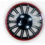 Copas Tapas Rin 13 Color Negro Con Rojo 5 Cm Alt Ref 118 X 4