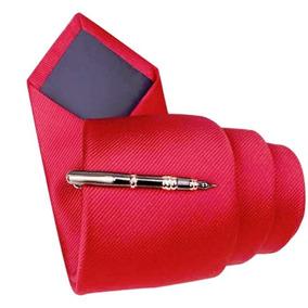 P13 Pisacorbatas Elegante Oscuro Caballero - Diseño Lapicero