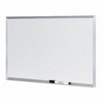 Lousa Quadro Branco Moldura De Aluminio 40 X 60 Cm + Caneta