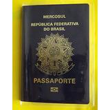 Capa Passaporte, Transparente, Pcv Acrilica, Modelo Antigo