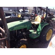 Perforadoras Montadas Sobre Tractores John Deere Años 2002