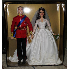 Barbie William And Catherine (kate Middleton) Royal Wedding