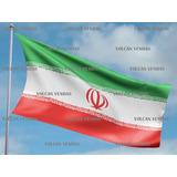 Bandeira Do Irã Cetim 1,50m X 0,90cm Iran Irão Copa Olimpiad