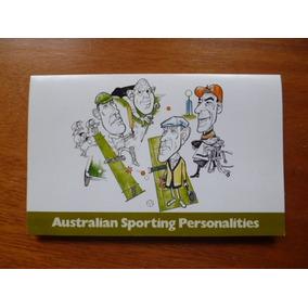 Conjunto Australian Sporting Personalities Selos 1981