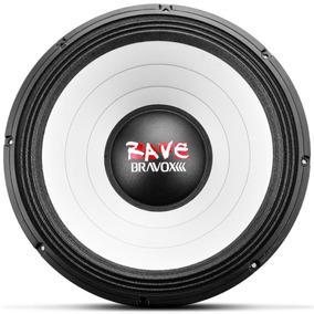 Woofer Bravox Rave 18 Polegadas Rv18-s4 1100w Rms 4 Ohms S/j