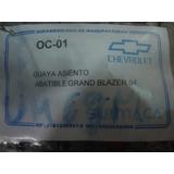 Guaya De Asiento Abatible Grand Blazer 94
