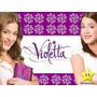 Violetta Invitación Cotillón Cumpleaños Kit Imprimible