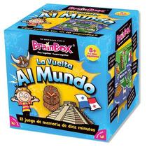 4017 Brainbox Vuelta Al Mundo Juego Dinámico De Memoria 8+