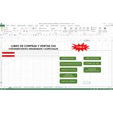 Libros De Compras Ventas Iva,especiales,ordinarios,en Excel