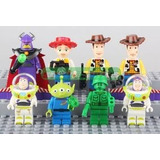 Set Lego Compatible 8 Figuras Toy Story