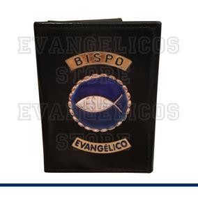 Carteira Bispo Evangélico Luxo B01