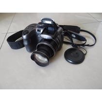 Câmera Digital Semi Profissional Ge X550 16mp Zoom 15x 8gb