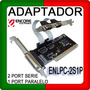 Adaptador Pci 2 Serie Y 1 Puerto Paralelo Encore Enlpc-2s1p