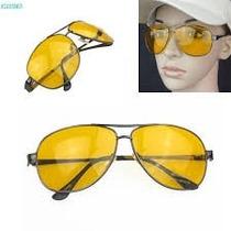 Gafas Para Noche Hd Aviator - Visión En Alta Definición
