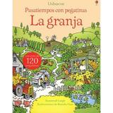 Pasatiempo Con Pegatinas - La Granja / Calcomanías