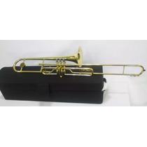 Trombone Pisto Shelter Si Bemol Com Detalhe Foto 4 E 5