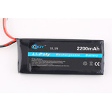 Bateria Lipo P/ Transmissores Rc 3s 11.1v - Fly Sky T6.....