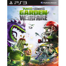 Plants Vs Zombies Garden Warfare Ps3 Sellado Envio Gratis