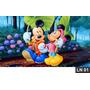 Mickey Minnie Turma Painel 2,00x1,00 Lona Festa Aniversario