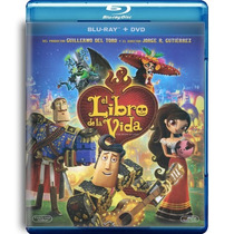 El Libro De La Vida The Book Of Life Pelicula Bluray + Dvd