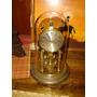 Antiguo Y Hermoso Reloj De Torsion Hermle Aleman Con Cristal
