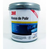 Kit 3m Massa De Polir Nº 2 Polimento 1kg E Cera Paste Wax 3m