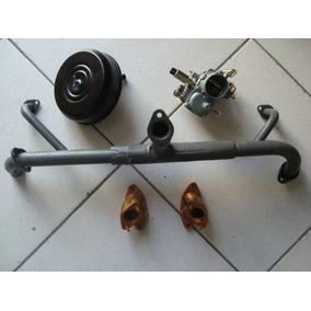 Kit Carburador + Admissao + Filtro Fusca Brasília Kombi 1600