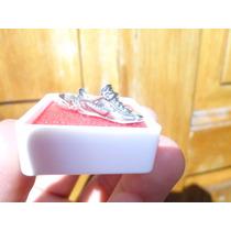 Dije De Plata Ley .925 Forma De Tenis Nike