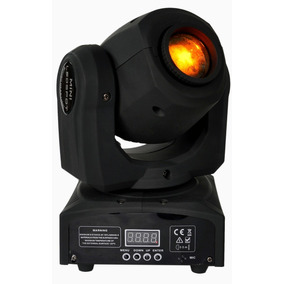 Mini Moving Head 60w Led Spot 8 Desenhos + 8 Cores