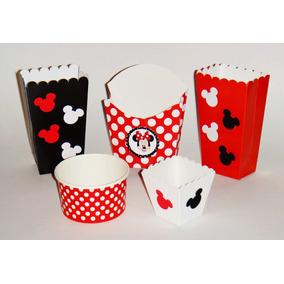 Dulceros Mickey Mouse Y Mimi Mesa De Dulces Fiesta Recuerdos