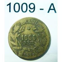 1000 Réis - 1925 - República - Cod 1009-a