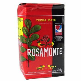 Erva-mate Argentina Rosamonte Elaborada 500g