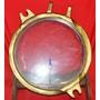 Antiga Escotilha De Bronze Redonda Do Navio Grego Alina P