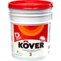 Berel Kover Pro Impermeabilizante Acrilico 3 Años 19lt