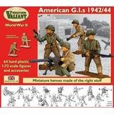 Soldados Estadounidenses 1942-44 Valiant Miniatures 1/72