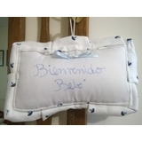 Cartel Puerta Bienvenida-nacimiento-baby Shower-envio Gratis