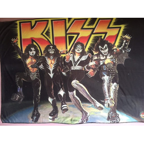 Poster Rock Bandeira Decorativa Banda Kiss