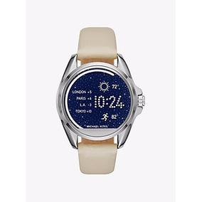 Pulseiras De Couro Michael Kors Digital Smartwatch Access