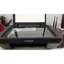 Impressora Canon Multifuncional Mg 3010 + Bulk Ink + Tinta
