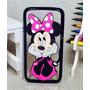 Capa Case Capinha Silicone Moto G4 Play Mickey Minnie 3d