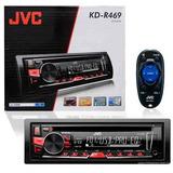 Cd Player Automotivo Jvc Kd-r469 C/usb Inst.grátis/rj