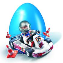 Playmobil 4932 Kart Y Piloto De Carreras
