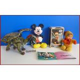 Dante42 Pack 03 Muñecos Dragon Mickey Muñequita Antigua