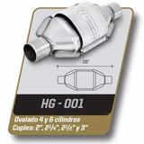 Catalizador Gas Lp Y Gnc Universal Ovalado 4 Y 6 Cil