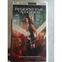 Resident Evil Apocalypse Umd Video Psp