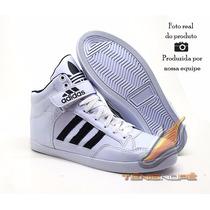 Tênis Adidas Cano Alto Basquete Sk8 Esqueitista