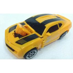 Robot Bamblebee Transformers Camaro Amarelo Bambobi